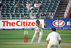 cricket 2009 de l'Afrique australie fév. du sud à voyager Photos libres de droits