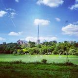 Cricket at Alexandra Palace Royalty Free Stock Photo