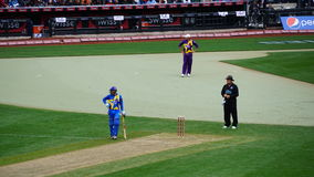The 2015 Cricket All-Stars Match in New York Stock Images