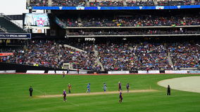 The 2015 Cricket All-Stars Match in New York Royalty Free Stock Photo