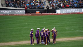 The 2015 Cricket All-Stars Match in New York Royalty Free Stock Photos