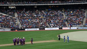 The 2015 Cricket All-Stars Match in New York Stock Photography