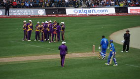 The 2015 Cricket All-Stars Match in New York Stock Photo