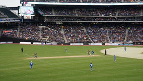The 2015 Cricket All-Stars Match in New York Stock Image