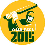 Cricket 2015 Australia New Zealand Stock Photo
