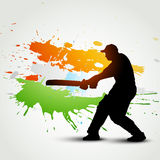 Cricket background Stock Image