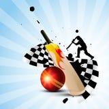 Cricket background Stock Photos