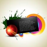 Cricket background Royalty Free Stock Image