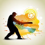 Cricket background. Abstract cricket background game artwork Royalty Free Stock Photography