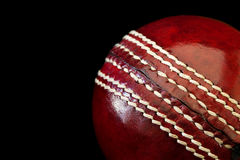 Cricket Ball Stock Photo