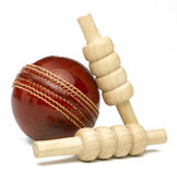 Cricket Ball Royalty Free Stock Photos