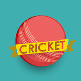Cricket ball concept. Stock Images