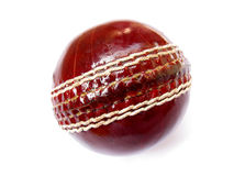Cricket Ball-Isolated Royalty Free Stock Photography