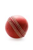 Cricket ball isolated Royalty Free Stock Photo