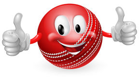 Cricket Ball Man Stock Images