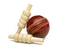 Cricket Ball Stock Image
