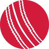 Cricket Ball. Red vector of a Cricket Ball vector illustration