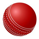 Cricket ball. Vector cricket ball. This is file of EPS10 format royalty free illustration