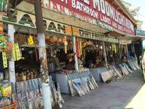 Cricket bats at upper qazigund market Stock Photo
