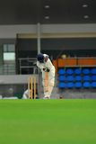 A cricket batsman Stock Images