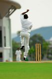 A cricket bowler Stock Images