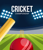 Cricket concept sport background eps 10. Illustartion of Cricket concept sport background eps 10 Stock Photo