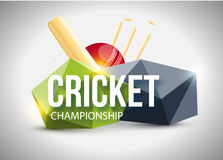Cricket concept sport background eps 10. Illustartion of Cricket concept sport background eps 10 Royalty Free Stock Image
