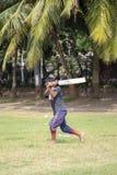 Cricket dans Mumbai, Inde photo stock