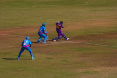 Cricket 7 de Bollywood Photographie stock