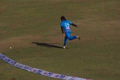Cricket 13 de Bollywood Images libres de droits