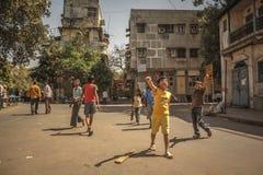 Cricket della via Immagini Stock Libere da Diritti