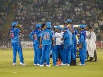 Cricket Drinks Break Royalty Free Stock Images