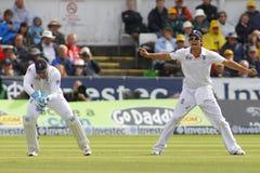 Cricket: England v Australia 4th Ashes Test Day Four Royalty Free Stock Image