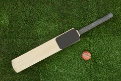 Free Cricket Equipment Royalty Free Stock Photography - 85249077