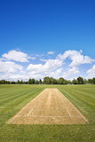 Cricket field background Stock Photos