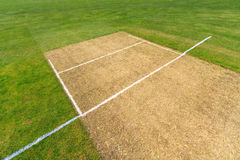 Cricket field Stock Photo