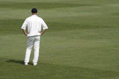 Cricket fielder Stock Photo