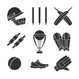 Cricket game vector concept. Stock Image