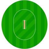 Cricket ground Stock Photo