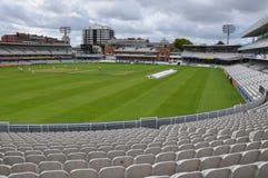 Cricket Ground de señor en Londres Imagen de archivo libre de regalías