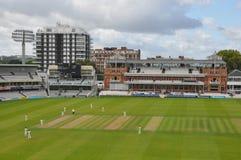 Cricket Ground de señor en Londres Imagen de archivo