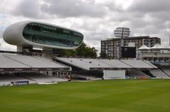Cricket Ground de seigneur à Londres Photographie stock libre de droits