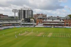 Cricket Ground de seigneur à Londres Photos libres de droits