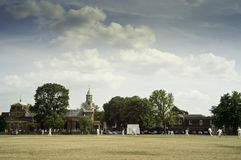 Cricket on Kew Green, England Royalty Free Stock Images