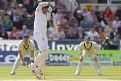 Cricket : L'Australie 4ème de l'Angleterre v incinère le jour quatre d'essai Images stock