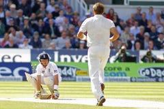 Cricket : L'Australie 4ème de l'Angleterre v incinère le jour quatre d'essai Photos libres de droits