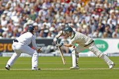 Cricket : L'Australie 4ème de l'Angleterre v incinère le jour trois d'essai Photos libres de droits