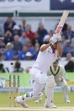 Cricket : L'Australie 4ème de l'Angleterre v incinère le jour trois d'essai Photo libre de droits