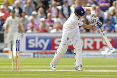 Cricket : L'Australie 4ème de l'Angleterre v incinère le jour trois d'essai Image libre de droits