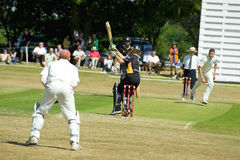 Cricket match Stock Photo